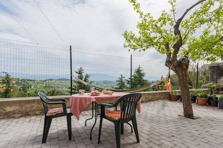 Wide room in the center with Assisi's view - Perugia - Apartment