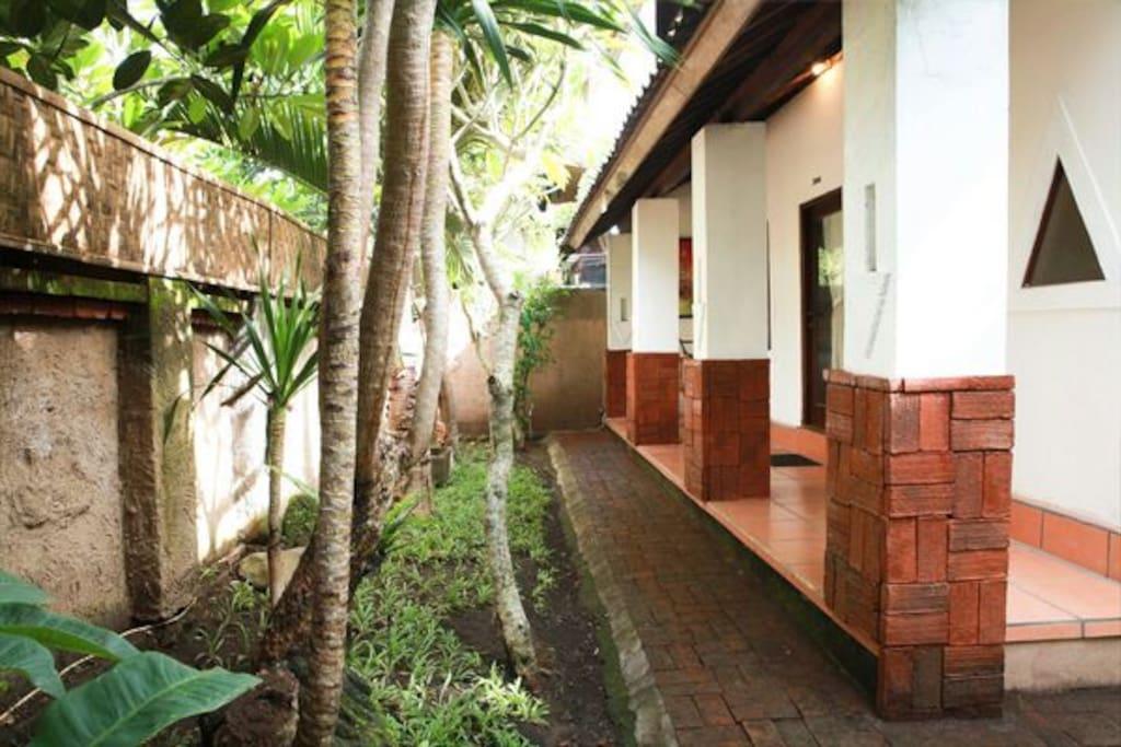Balcony of SriKaVilla
