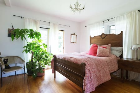 Hopes bedroom over Falls/Woodstock - Casa