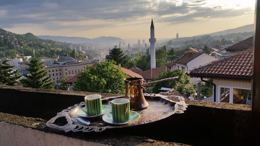Sarajevo - Best view in Old Town - Apartment