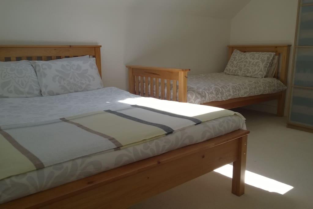 2 bedroom barn conversion