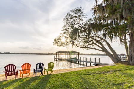 Orlando Luxury Lakefront Ski Home - Apopka