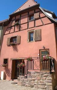 Gîte de Charme l'Accroche Coeur - Hattstatt - Huis