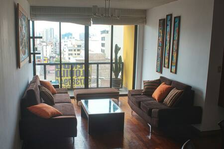 Apartment Miraflores downtown /wifi