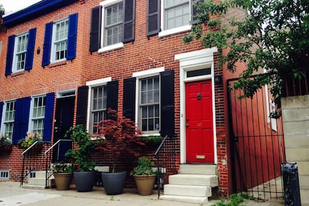 Charming Center City Row-house
