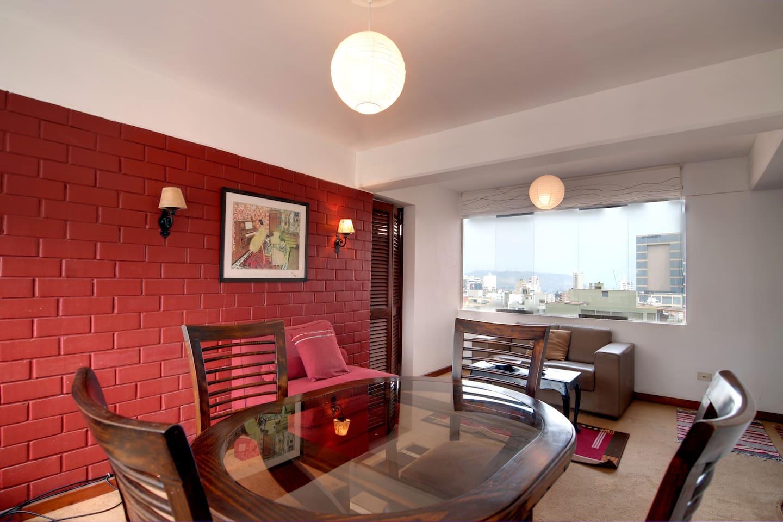 2 bedroom apt, Alcanfores street