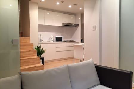 大阪心斋桥HORIE LUX豪华空中复式别墅公寓 - Ōsaka-shi - Appartement