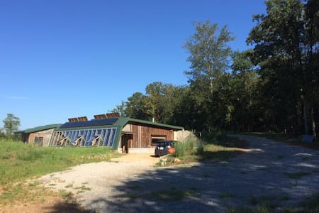 Northeast Georgia Earthship - Haus