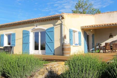 Charming 6-p gîte near Carcassonne - Casa