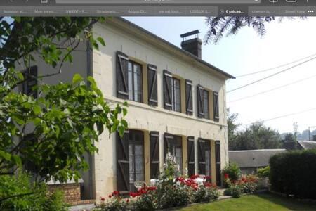 Chambre confortable en Normandie - Maison