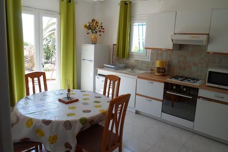 T2 rez de villa à 5 mn des plages - Bastelicaccia - Apartmen