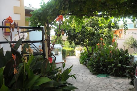 Apartment in a beautiful garden - Daire