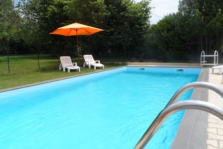 NEW!Villa with private swimmingpool - Lahitte-Toupière - Hus