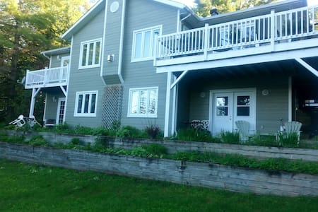 B & B Lac Saint-Joseph Double Unit - Saint-Adolphe-d'Howard - Bed & Breakfast