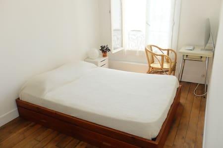 Apt Calme et Lumineux, Canal St Martin - Paris-10E-Arrondissement - Wohnung