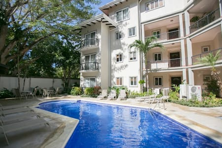 First floor condo just 200 meters to Potrero Beach and 100 meters to a fantastic fruit and vegetable stand.