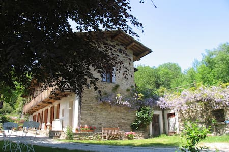 "Bed & Breakfast ""Cascina Moneia""    - Bagnolo Piemonte - Bed & Breakfast"