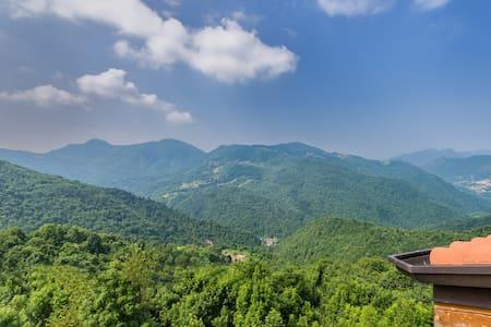 Mountains 70kms NE of Milan Bergamo - Sant'Erasmo /Trafficanti