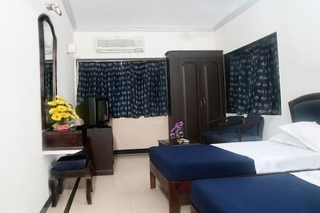 The rooms are available in a beach side resort Hotel at a deep discount. All rooms accommodate 2 people with either a double bed or two singles. Booking thru me provides the room with free breakfast and free Internet. Additional person(s)  extra.