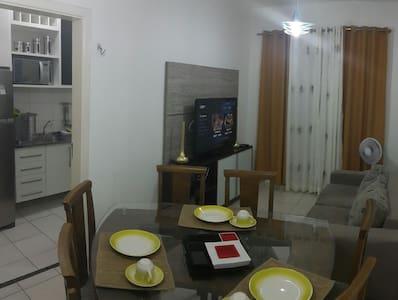 Flat apar.double 206 Fit CoqueiroII - Apartamento