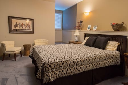 Private Master Bedroom and Bathroom