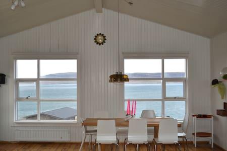 House in a fjord near Reykjavik
