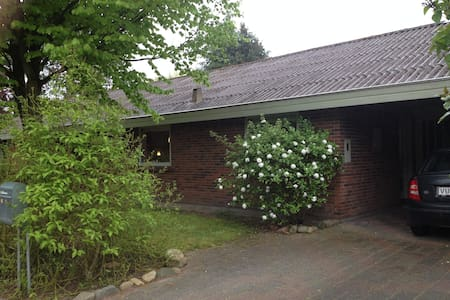 House and garden, middle of Denmark - Skive