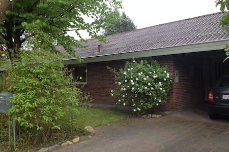 House and garden, middle of Denmark - Maison
