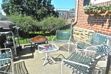 Row home 3bed 20' to Center Philly - Drexel Hill - Casa