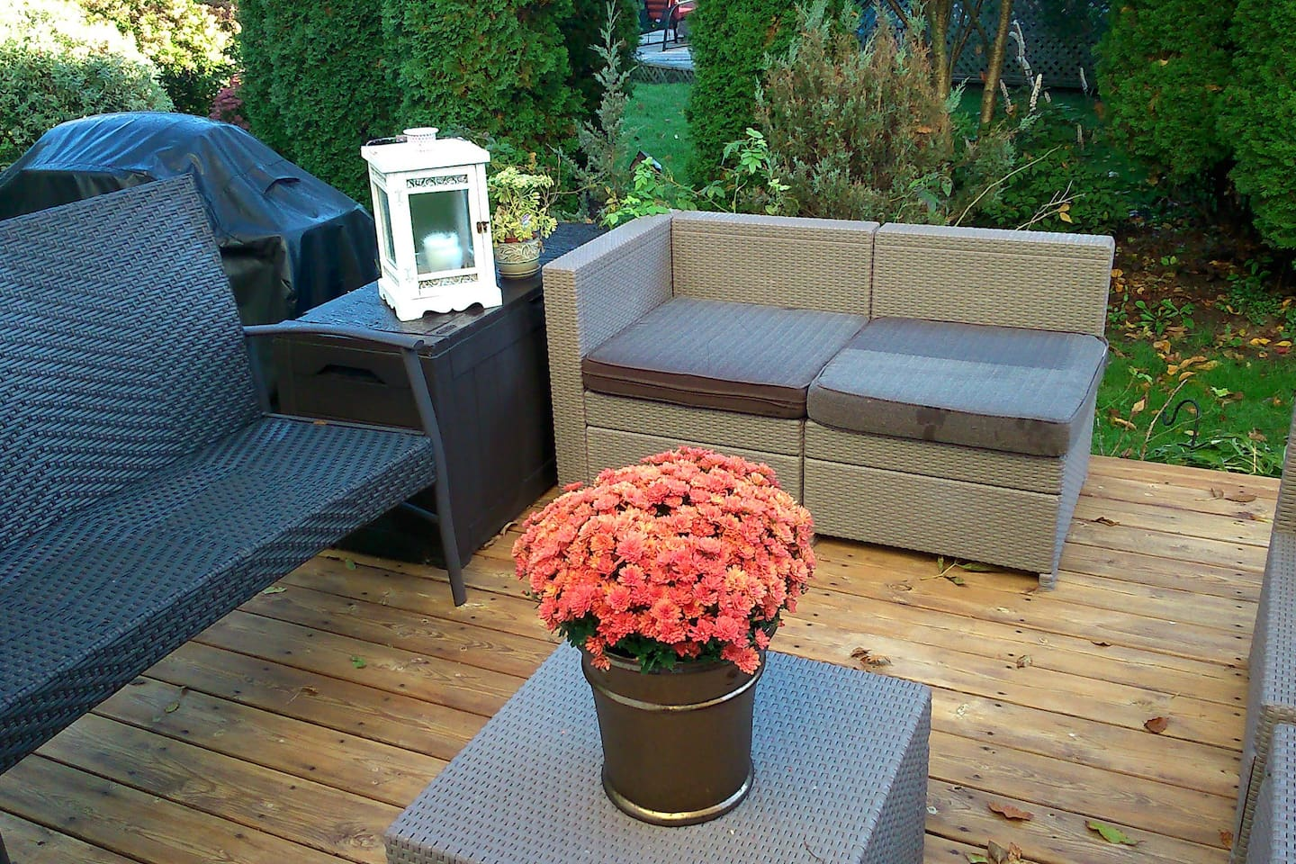 Fall in the deck