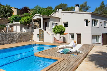 Getaway Sitges hills with big pool - Casa