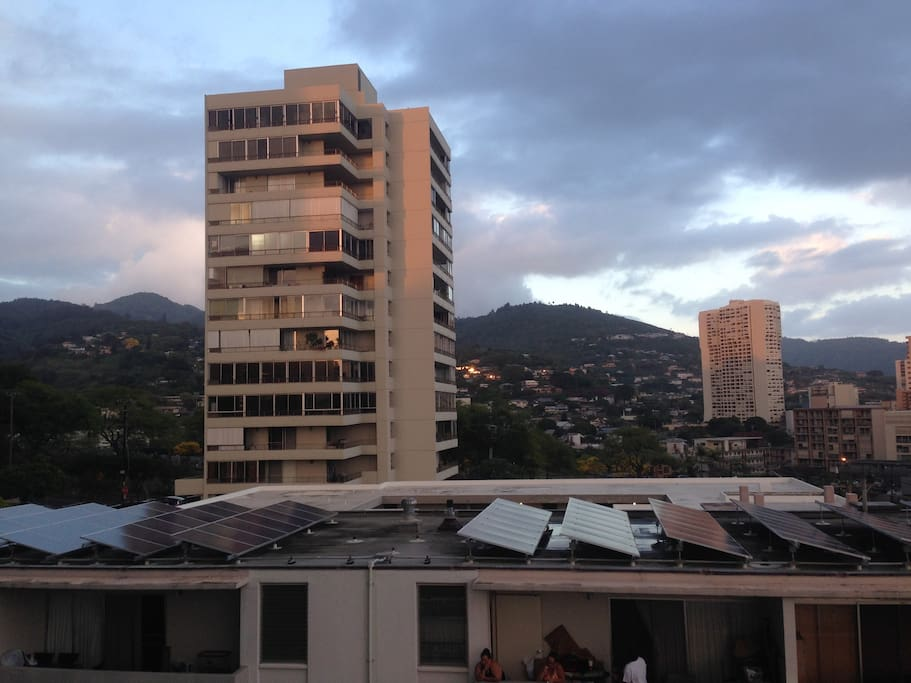 Walk about from Central Punchbowl