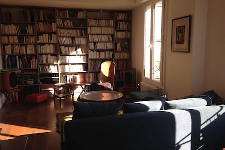 4 bedrooms duplex, 5mn from Paris - Les Lilas