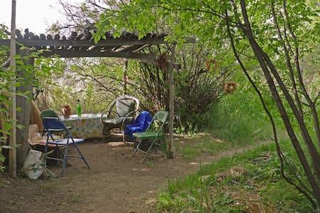 Historical, adobe on river,orchard - Ranchos de Taos - Maison