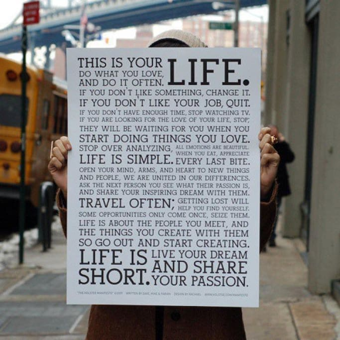 Life, live and let live!