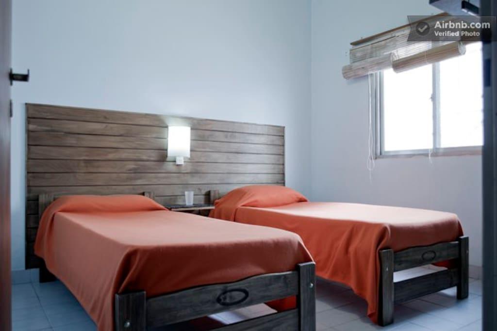 Hab doble cama single en Almagro