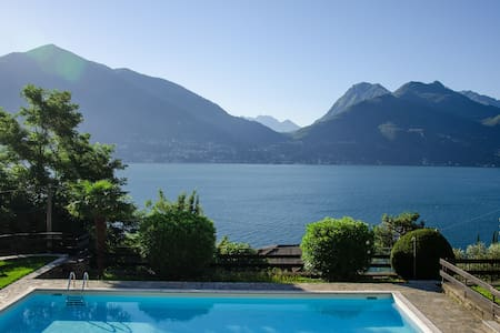 Como Lake, Beautiful Cottage Sole & Lago - Acquaseria - Villa