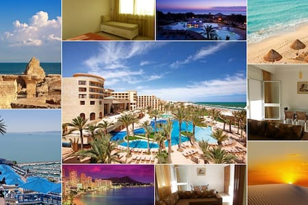 Best view apt Aryanah Tunisie - Ariana - Daire