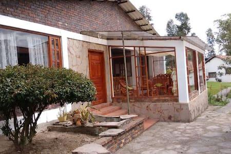 Cabaña Campestre - Paipa - Cabaña