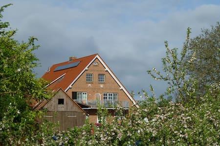 Ferienwohnung Elbinsel Krautsand - Lejlighed