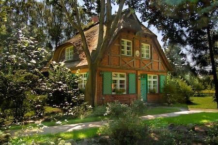 Ferienhaus Idylla, reedgedeckt - Ev