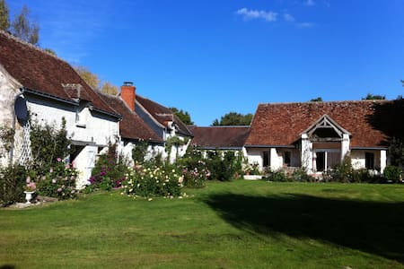 Charming B&B in the Souht Loire Valley - Haus
