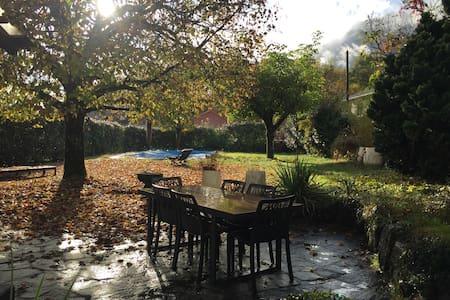 Rez de Jardin maison au calme, Départs Randos - Saint-Ismier - House