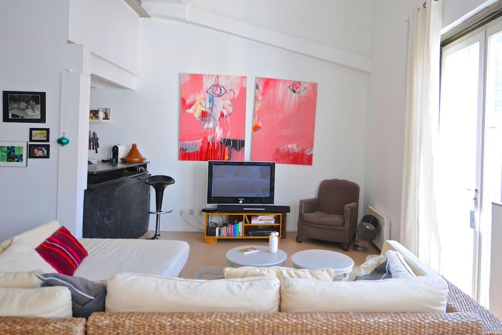 Chambre dans un loft lofts louer bordeaux - Loft a louer bordeaux ...