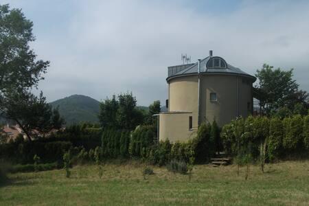 Round Tower House in Muros de Nalon