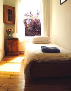 Bright single room- Peckham, Zone 2 - Londres - Casa