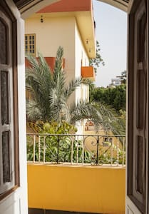 Chic flat with garden views - Luxor - Pis