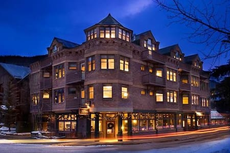 Hotel Columbia sits directly across the street from the main ski resort Gondola. Telluride's historic Main Street corridor, which features fine dining and entertainment options is less than two blocks away.