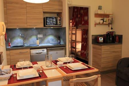 Avoriaz studio cabine idéal couple avec 2 enfants - Morzine - Appartement