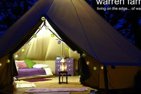 Damson bell tent on Pembs Coast - Tipi